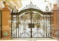 iron sliding gate