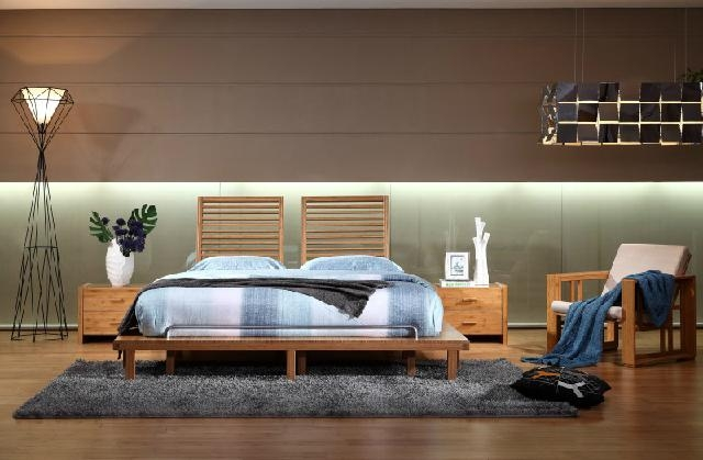 Eco friendly modern carbonized bamboo home furniture bedroom hotel beds w002a w002al bamboo - Basic facts about carbonized bamboo furniture ...