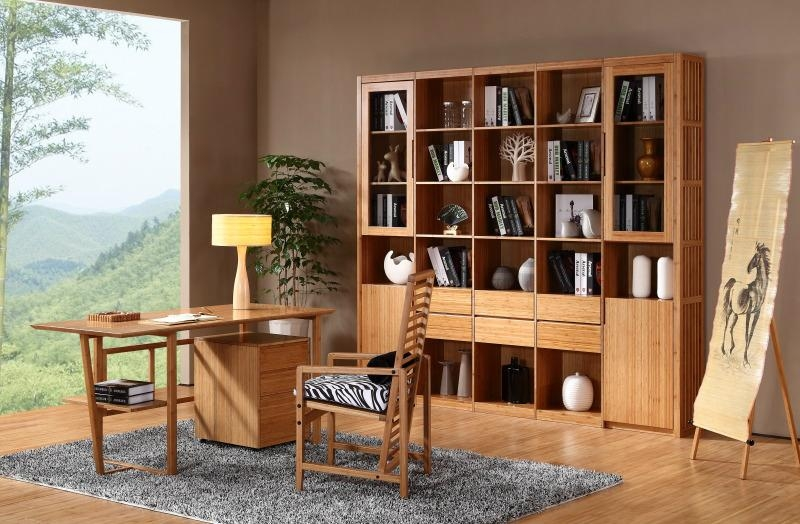 Reading Room Furniture Simple Concise And Easy Bamboo Furniture Reading Room Desk  S003 Design Decoration
