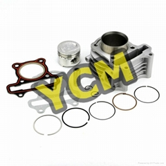 GY6-50 cylinder assy 39mm with piston and rings scooter engine parts