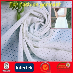 Knitting stretch textile nylon lycra mesh Fabric (JNE3109)