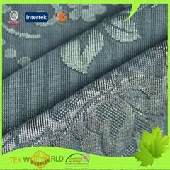 Flower Jacquard 59'' Nylon Spandex Blend Stretch Fabric