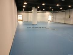 青島PVC運動地板
