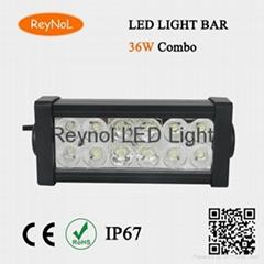 36W Combo LED light bar Offroad & work led light