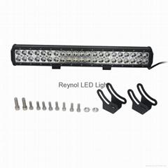 126W spot LED light bar LED off road light