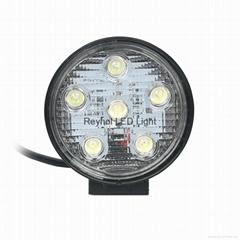 18W Round LED work light led car light