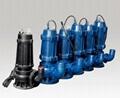 厂家直销WQ无堵塞潜水排污泵80WQ65-20-5.5污水杂质泵 2