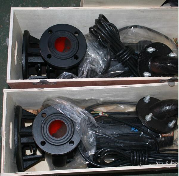 厂家直销WQ无堵塞潜水排污泵80WQ65-20-5.5污水杂质泵 3