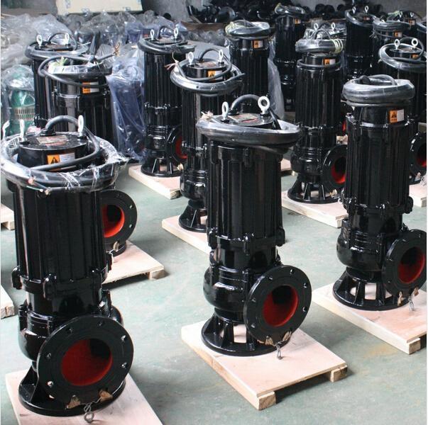 济南排污泵WQP 不锈钢潜水排污泵耐腐蚀潜污泵现货 3