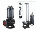 供应100WQ85-20-7.5潜污泵 自耦式轨道潜水排污泵厂家 4