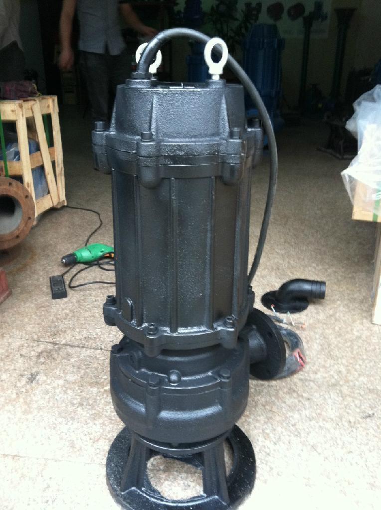 供应100WQ85-20-7.5潜污泵 自耦式轨道潜水排污泵厂家 5