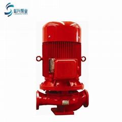 供应济南消防泵XBD12.5/5G-L 国标3C认证立式消防水泵