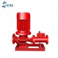 供应济南消防泵XBD12.5/5G-L 国标3C认证立式消防水泵 2