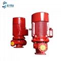 供应济南消防泵XBD12.5/5G-L 国标3C认证立式消防水泵 4