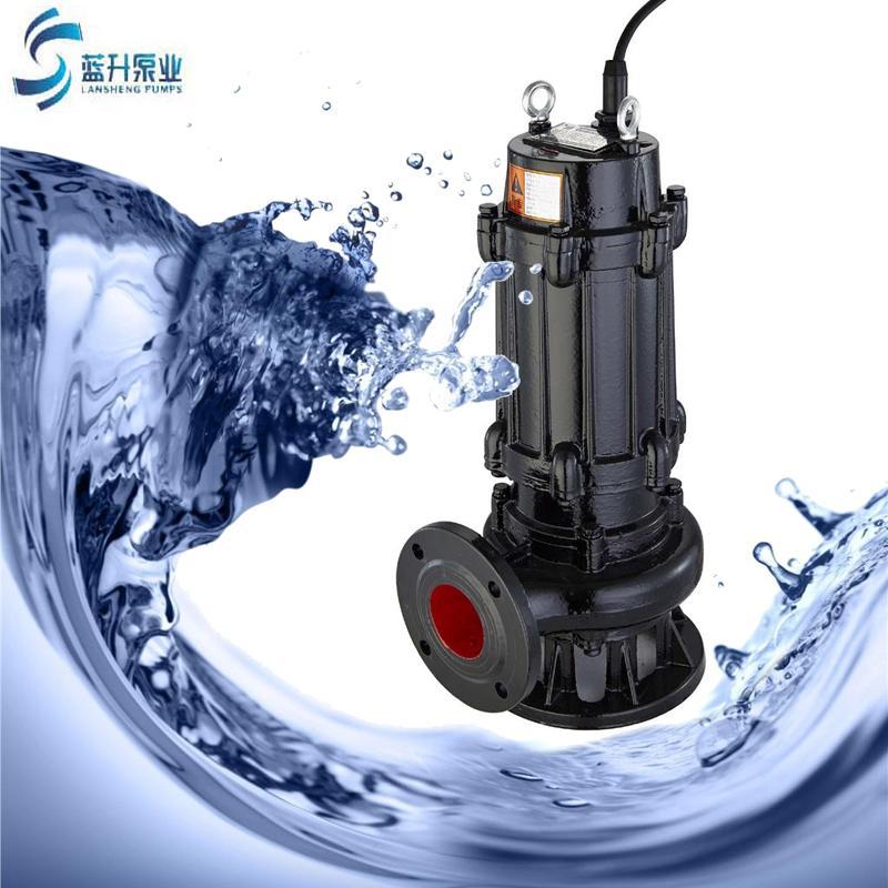 供应100WQ85-20-7.5潜污泵 自耦式轨道潜水排污泵厂家 2