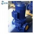 供应山东管道泵ISG50-125立式单级1.5KW清水管道离心泵现货 2