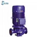 供应山东管道泵ISG50-125立式单级1.5KW清水管道离心泵现货 3