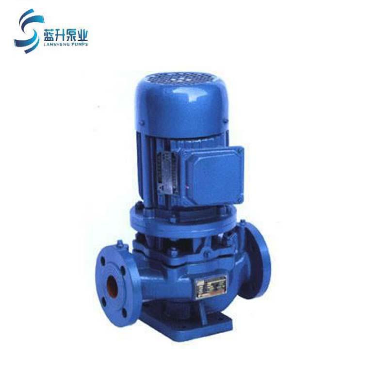 供应山东管道泵ISG50-125立式单级1.5KW清水管道离心泵现货 4