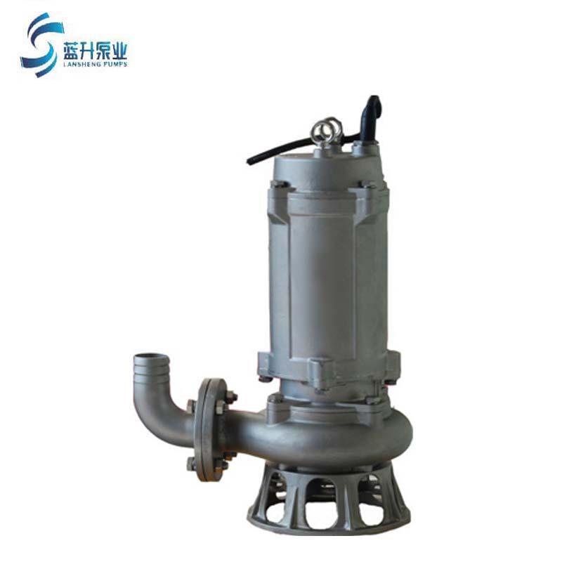 济南排污泵WQP 不锈钢潜水排污泵耐腐蚀潜污泵现货 1