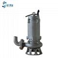 济南排污泵WQP 不锈钢潜水排