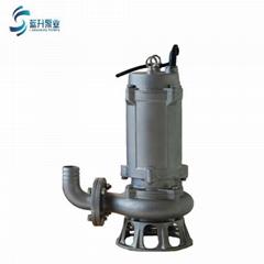 济南排污泵WQP 不锈钢潜水排污泵耐腐蚀潜污泵现货