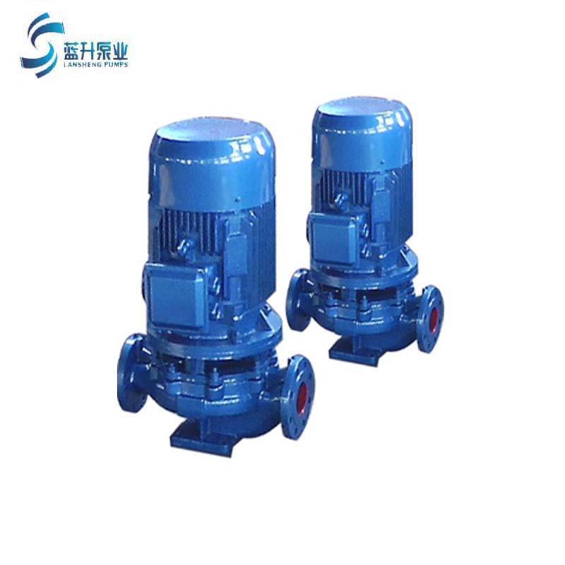 供应山东蓝升IRG立式管道泵  1