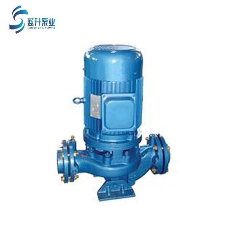 供应山东蓝升IRG立式管道泵  2