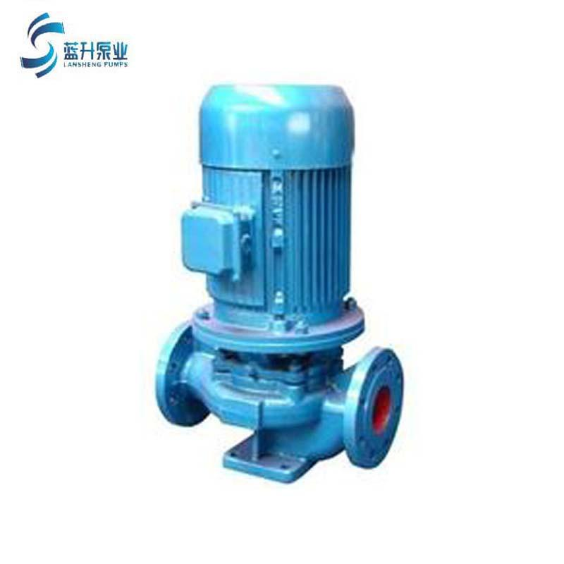 供应山东蓝升IRG立式管道泵  4
