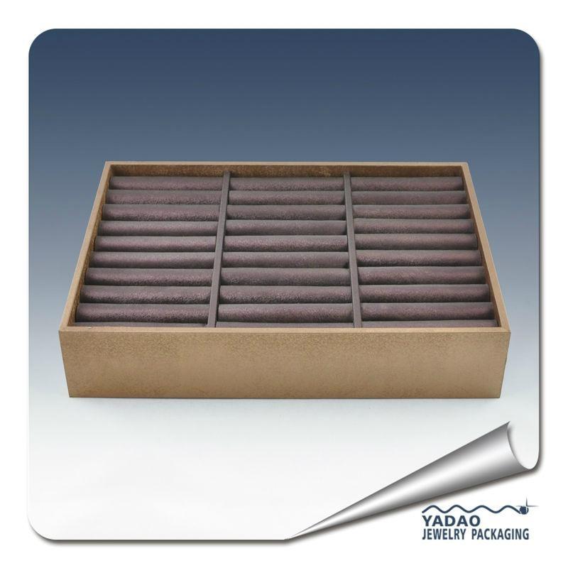 Wholesale Wooden Custom Stackable Bracelet Tray 1