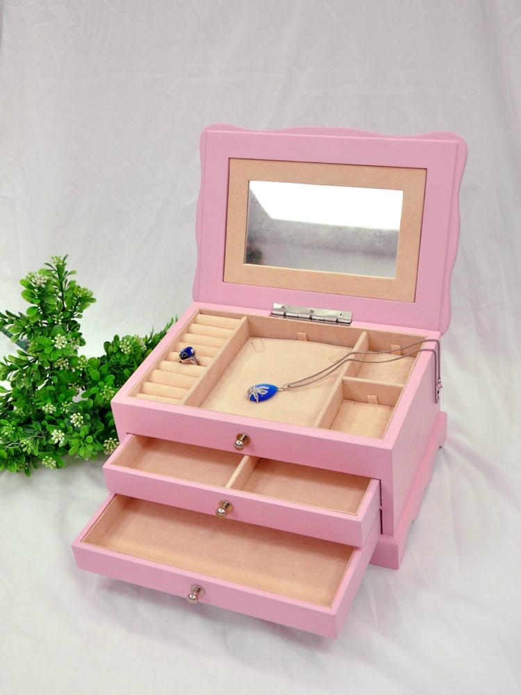 High quality new wooden jewellery boxes jewellery gift boxes for jewelry package 2