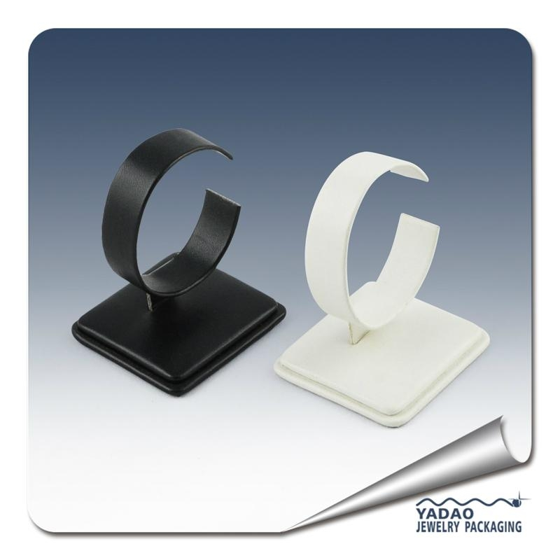 High quality leatherette display stand for watch or bangle with factory price 1
