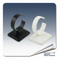 High quality leatherette display stand for watch or bangle with factory price