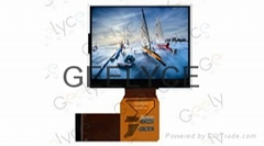 3.5 inch TFT LCD Panel with 320RGBx240P Resolution and LED backlight