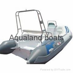 Rib boat pleasure boat Hypalon  INFLATABLE sports  BOAT