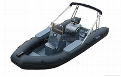 rigid inflatable Boat  rescue boat RIB patrol Boat