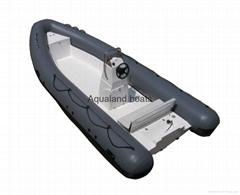 rigid inflatable boat rib boat patrol boat fishing boat work boat