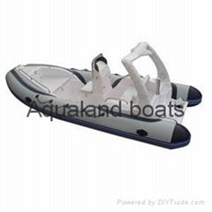 rib boat RIGID INFLATAB