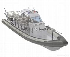 Rigid inflatable boat military  rib Patrol Boat