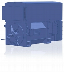 Self-lubrication high efficiency high speed three-phase induction motor