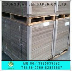 Storage box grey board paper