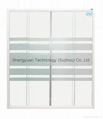 SY35704 Sliding shower Door 4 - PC 6mm