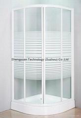SY32101 Quadrant Shower Enclosure 4mm