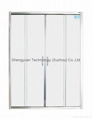 SY35707 Sliding Shower Door 4 - PC 6mm