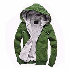 2014 Cheap Wholesale Man Cotton Winter Warm Fleece Customized Hoodies