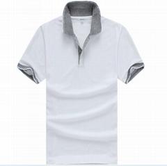 Custom Mens Polo Shirt Promotional White Cotton Polo Shirt Factory