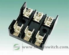 Shanghai Sinmar Electronics HP-F2010 Fuse Holders 30A600VAC Screw M4 Terminal Fu
