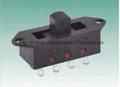 Shanghai Sinmar ElectronicsPlastic case XN-2308-1 Slide Switches 9(4.5)A125/250V