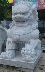 白麻石狮子