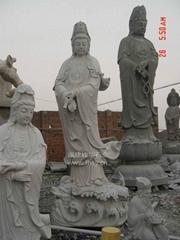 石雕佛像觀音