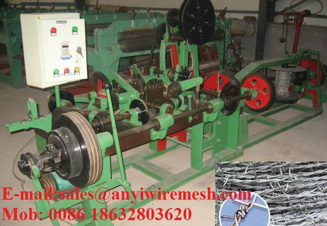 Double Reverse twisted Barbed Wire Machine  5